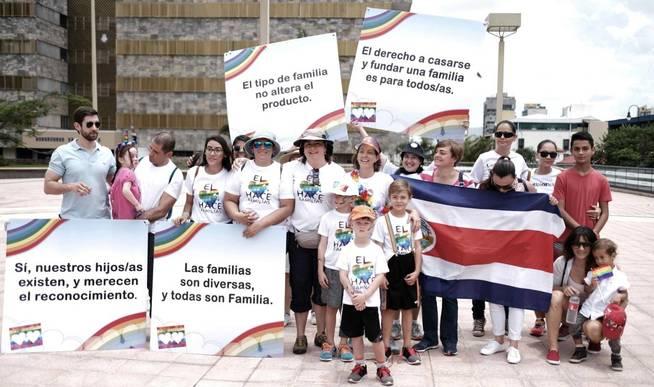 Las manifestaciones se han sucedido en Costa Rica pidiendo reformas en la ley (EFE/Jeffrey Arguedas)