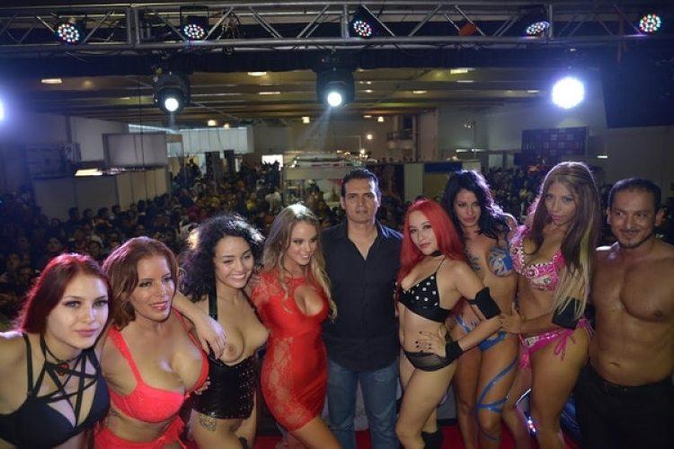 Fotografía de Exposexo, evento que también organiza y coordina Fernando.