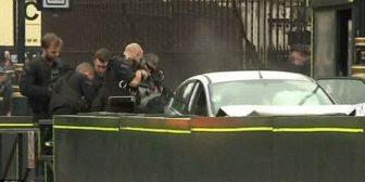 Así fue el arresto del conductor que atropelló a varias personas y se estrelló frente al parlamento británico