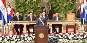 """Presidente de Paraguay: """"Que se acabe la impunidad"""" (Video)"""