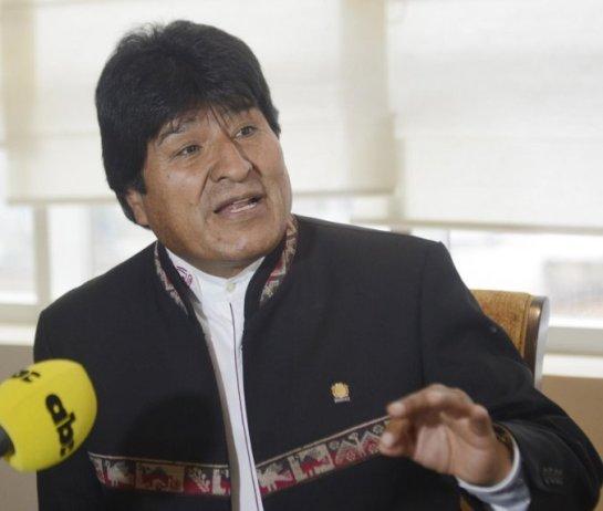 Resultado de imagen para Evo Morales entrevista ABC color de Paraguay