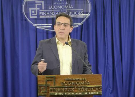 Mario Guillén, ministro de Economía y Finanzas Públicas.