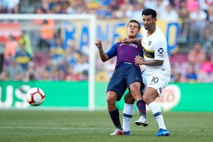 Barcelona venció 3-0 a Boca en el Camp Nou por el Trofeo Joan Gamper (EFE)