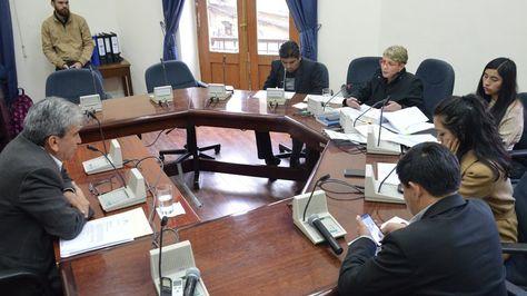 Sesión de la Comisión Especial Mixta del caso Odebrecht.