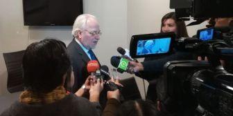 Eguiguren compartirá información de Bolivia con comisionados de la CIDH en la próxima reunión