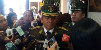 Comandantes de la Policía y FFAA se reunen para evitar fricciones tras el robo de los símbolos presidenciales