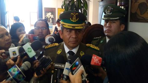 El subcomandante de la Policía, general Agustín Moreno