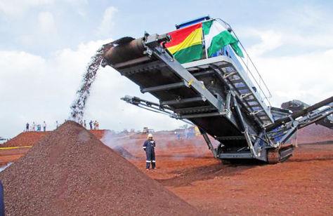 La planta del Mutún producirá 250.000 toneladas anuales de hierro esponja