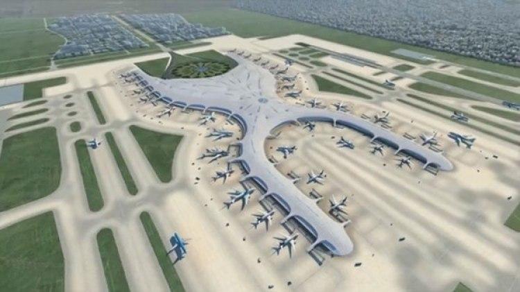 El proyecto de nuevo aeropuerto de Ciudad de México