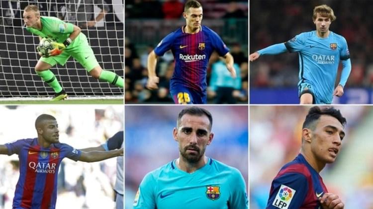 """Los jugadores que están en la lista de """"transferibles"""""""