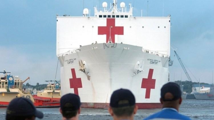 El USNS Comfort estará operativo en Colombia en septiembre (U.S. Navy)