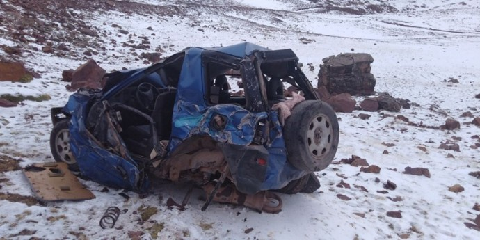 Maestros mueren en accidente vial en la zona de Colquechaca