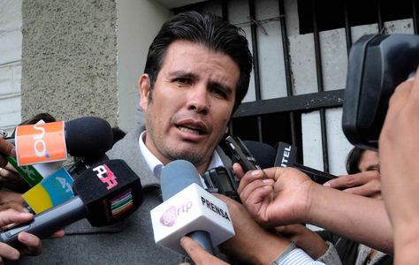 El abogado William Sánchez.