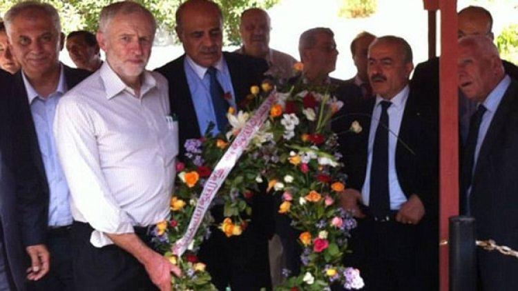 Corbyn también rindió homenaje a los terroristas de los Juegos Olímpicos de 1972