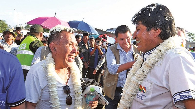 De Goni a Evo Morales, el giro político de Gonzalo Hermosa