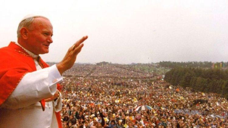 Juan Pablo II en Irlanda en 1979