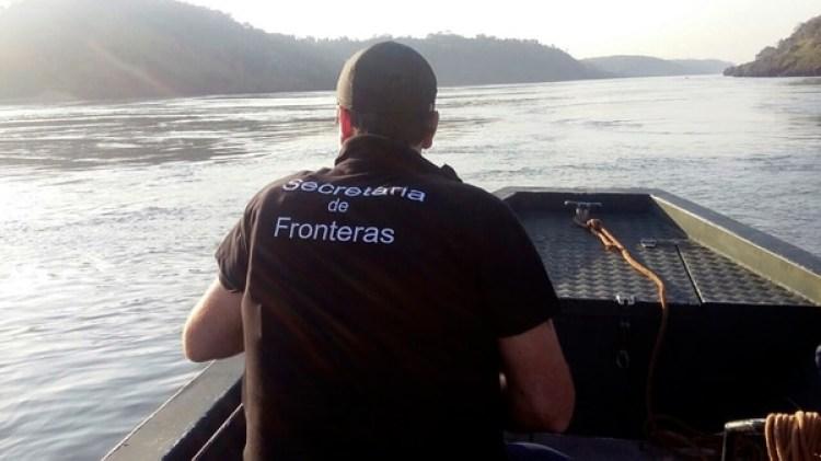 El Gobierno argentino profundizó los controles en la frontera. (Fotografía distribuida por el Ministerio de Seguridad)
