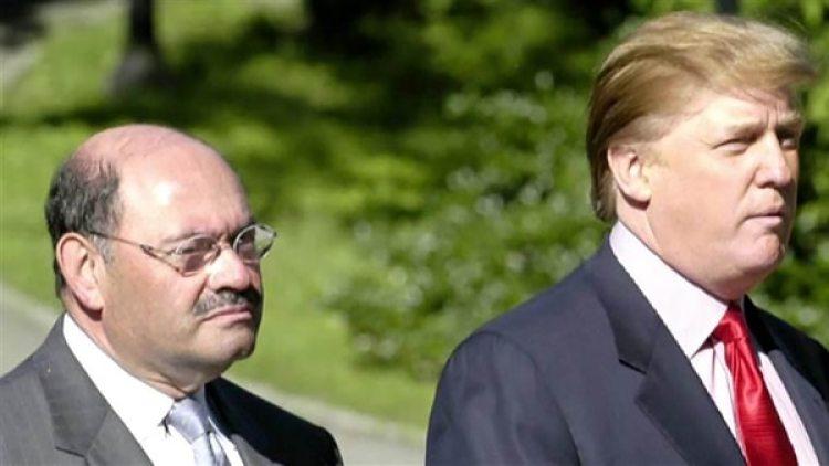 Allen Weisselberg y Donald Trump