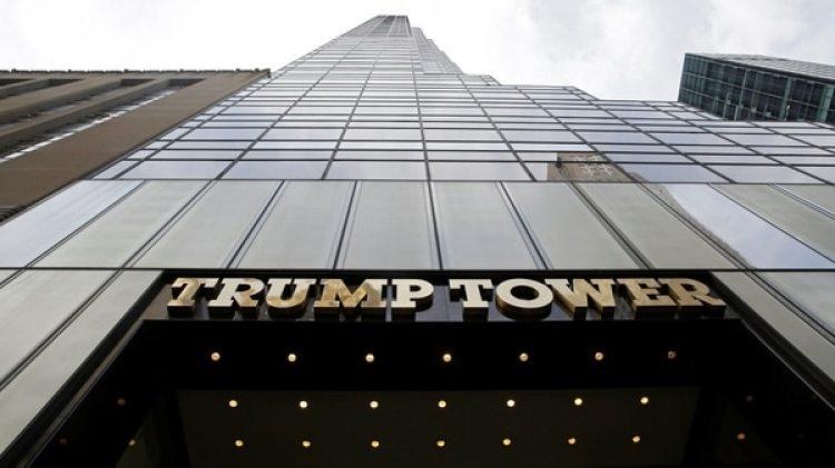 Uno de los edificios de la Organización Trump(EFE/ Jason Szenes)