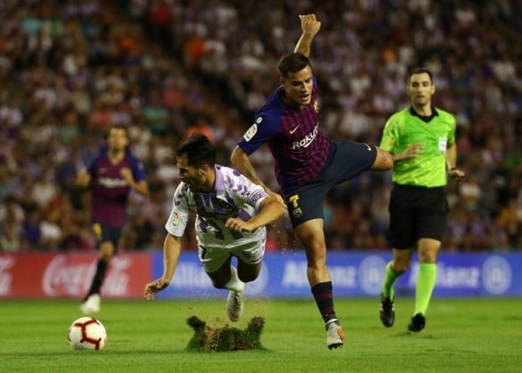 El presidente de la Liga, Javier Tebas, anunció que abirrán un expediente (Reuters)
