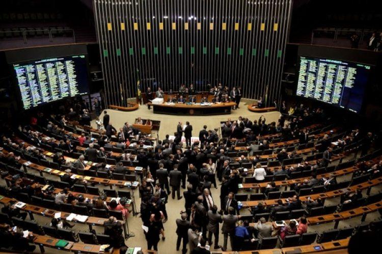 Diputados brasileños en plena sesión(AFP)