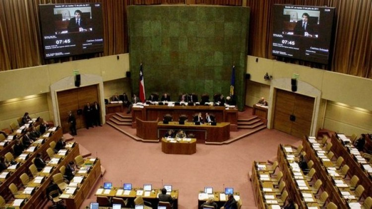Cámara de Diputados de Chile (UPI/Jonathan Mancilla)