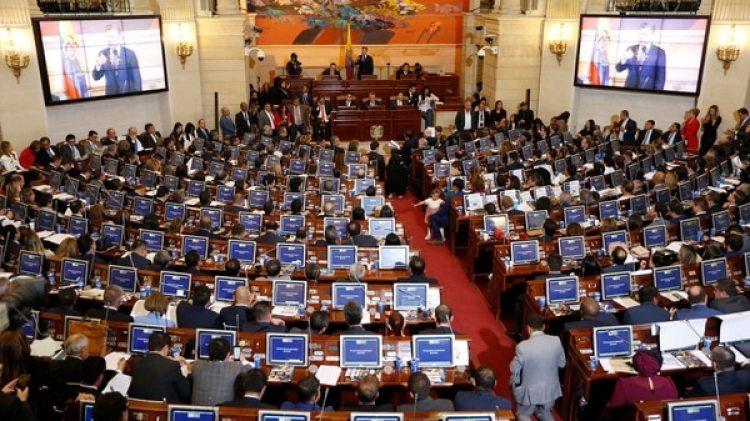El Senado Colombiano (AP)