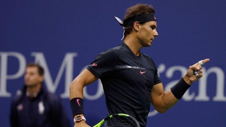 Nadal debuta en el US Open en busca de su cuarta corona (AP)