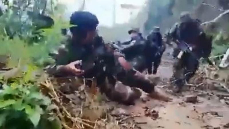 """Policía muestra videos de la """"emboscada"""" de cocaleros en La Asunta"""