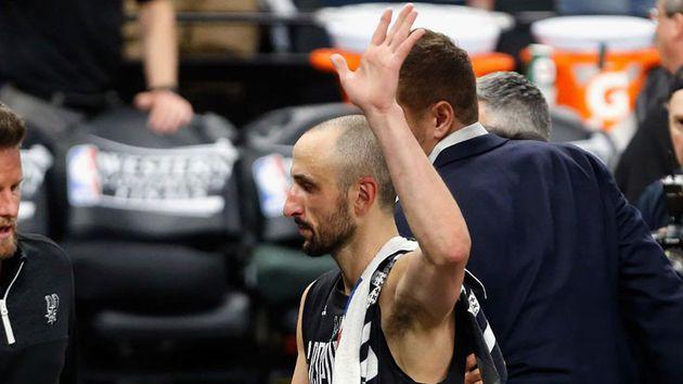 Manu Ginobili se retiro del basquet