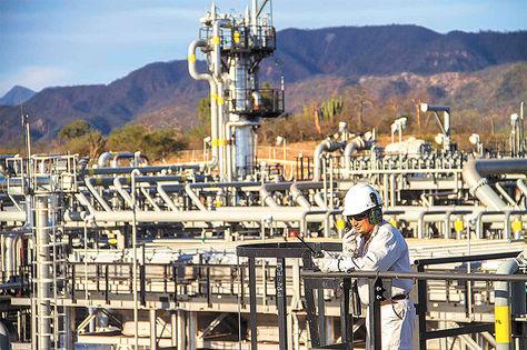 Tarija. El campo Margarita, de donde se exporta gas a la Argentina.