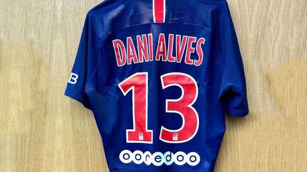 El por qué Dani Alves usará el número 13 con el PSG