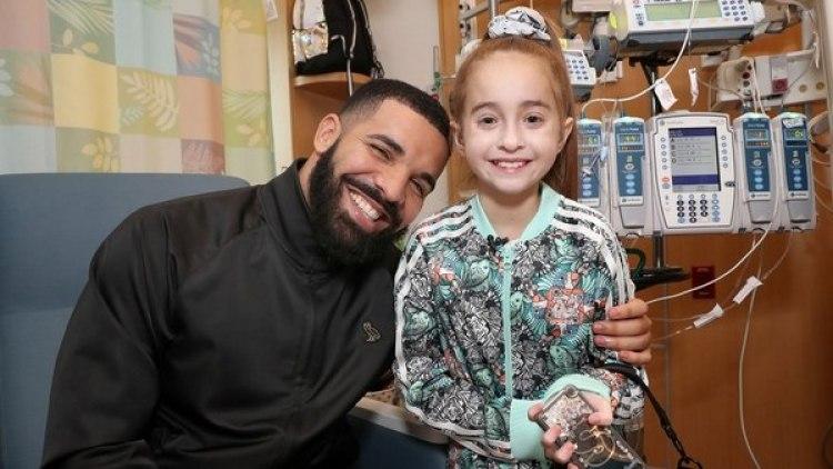 Una niña de 11 años recibió un trasplante de corazón días después de ser visitada en el hospital por Drake