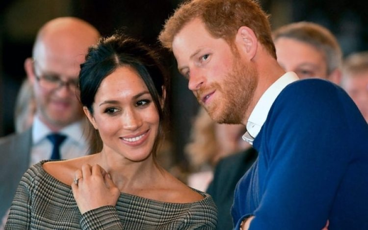 Markle es la flamante esposa del príncipe Harry