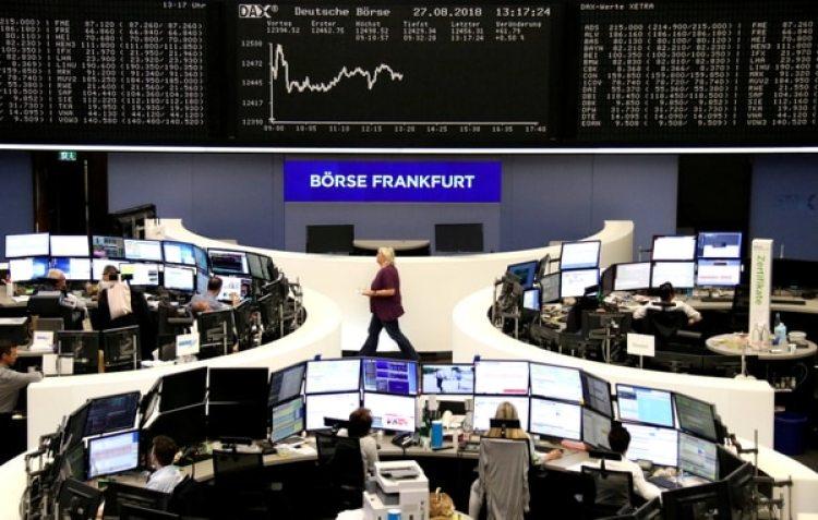 La bolsa de Frankfurt, en Alemania (REUTERS/archivo)