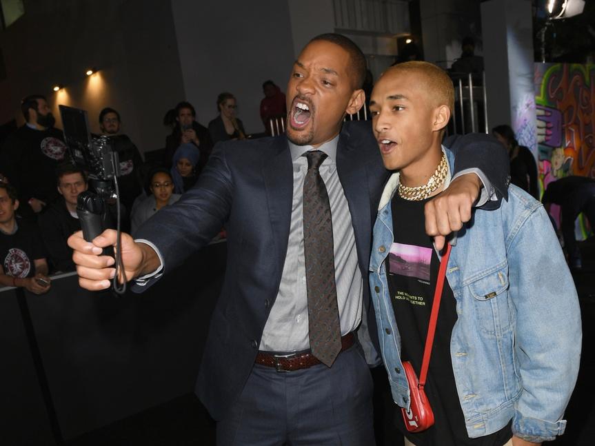Will Smith y su hijo Jaden actúan por primera vez juntos con épico resultado