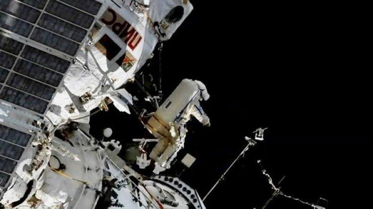 Segmento ruso de la Estacion Espacial Internacional (AP)