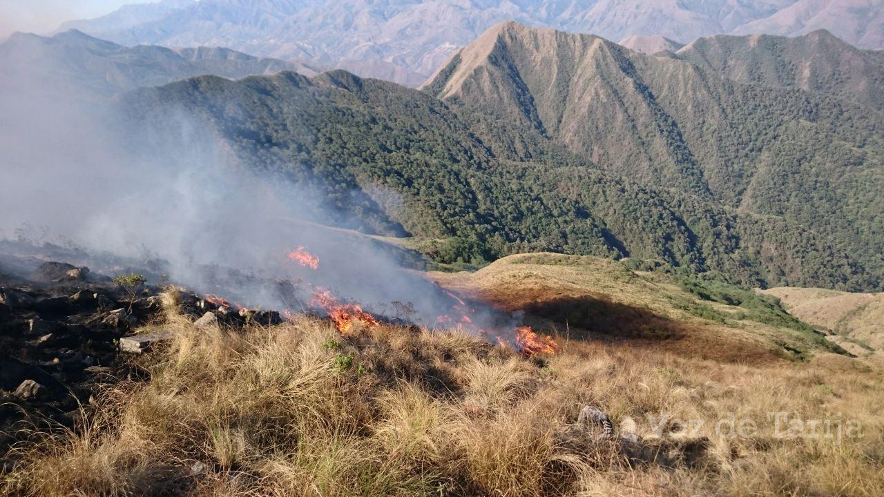 Senamhi registra 14 focos de calor en el departamento de Tarija
