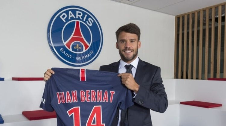 Juan Bernat se ha marchado del Bayern Múnich para jugar en el Paris Saint Germain