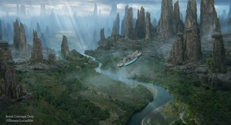 La nueva zona de Star Wars: Galaxy's Edge se inaugurará en 2019.