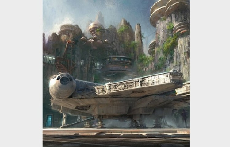Star Wars: Galaxy's Edge (el nombre de la zona de Star Wars dentro de Disney)