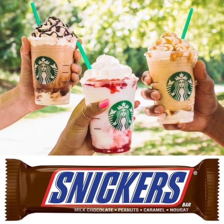 """Las nuevas variantes """"ligeras"""" del tradicional Frappuccino todavía contienen más azúcar que una barra Snickers"""