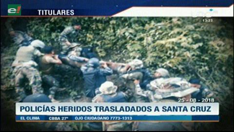 Video titulares de noticias de TV – Bolivia, mediodía del sábado 25 de agosto de 2018
