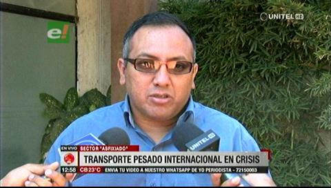 Transporte pesado se declara en crisis y piden reunión con el Gobierno