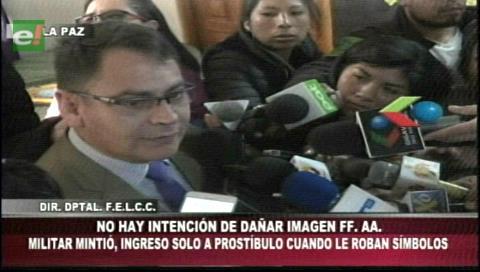 """Caso robo Medalla y banda presidencial: Policía rechaza supuesto """"complot"""" contra militar"""