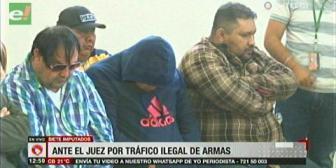 Relacionan a detenidos por tráfico de armas con grupos criminales del Brasil