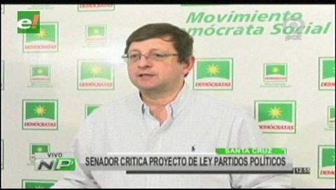 Ortiz: El MAS pretende que sus militantes habiliten candidatura de Evo, cuando el país decidió que No