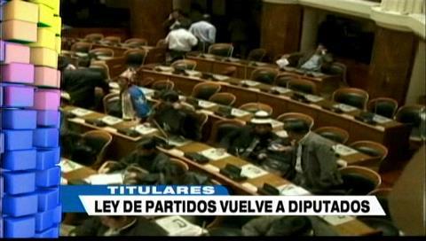 Video titulares de noticias de TV – Bolivia, noche del jueves 30 de agosto de 2018