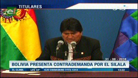 Video titulares de noticias de TV – Bolivia, mediodía del viernes 31 de agosto de 2018
