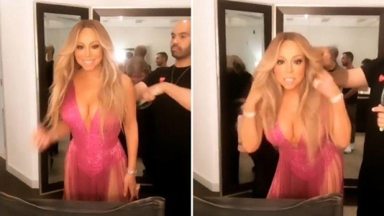 Mariah Carey dio comienzo a la segunda mitad de su residencia en Las Vegas (Instagram Mariah Carey)